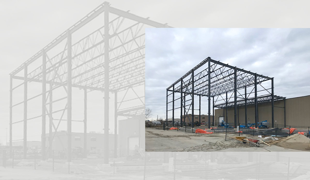 steel framing, warehouse construction, industrial construction, commercial construction