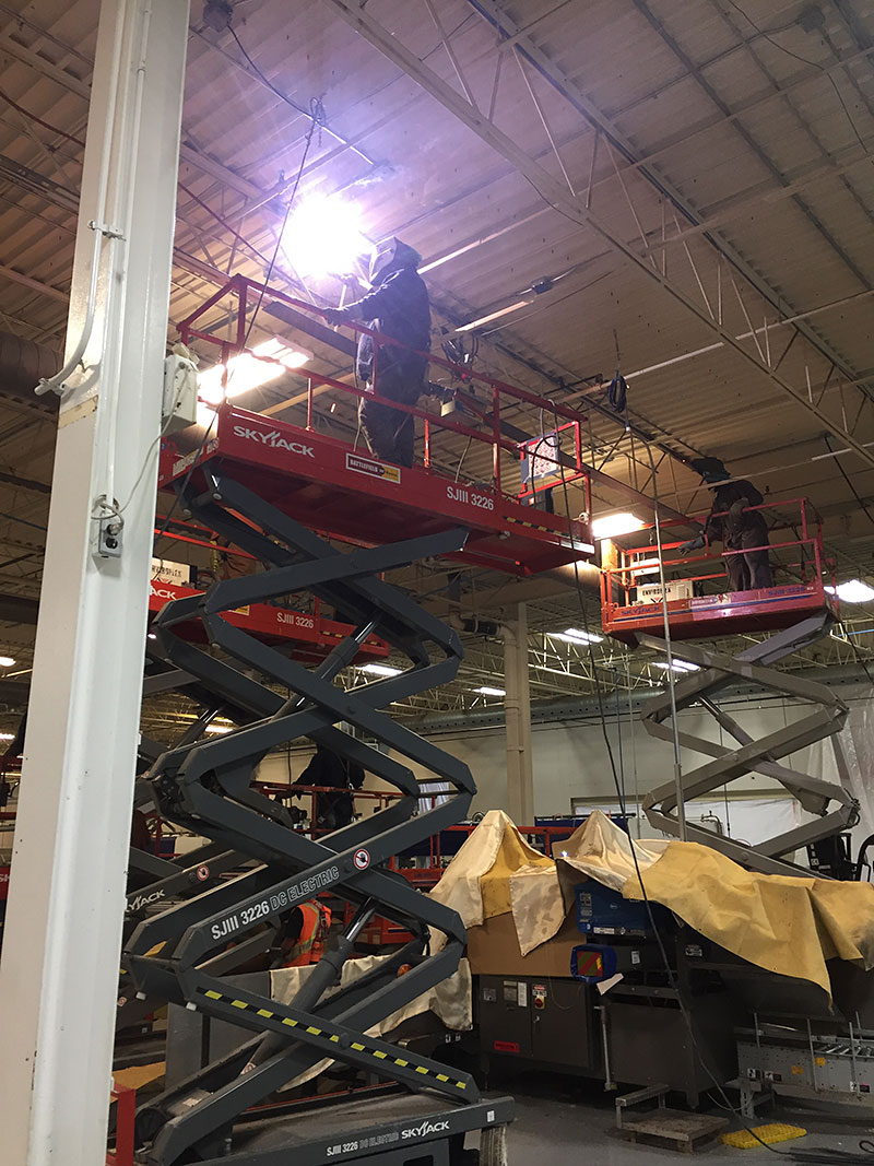 Reinforcing Steel for Conveyor