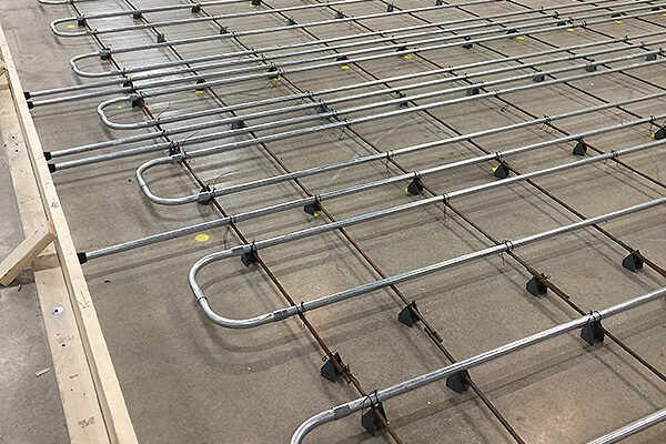 underfloor heating, blast freezer